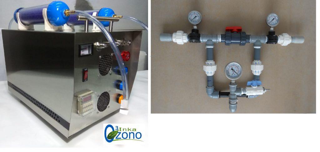 Generador de Ozono y Venturi